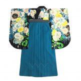 着物:美桜ブルー / 袴:美桜青緑91
